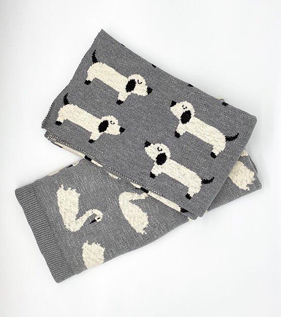 Babyshop - Decke mit Hunden und Schwänen