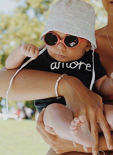 Luis mit Sonnenbrille und Hut!